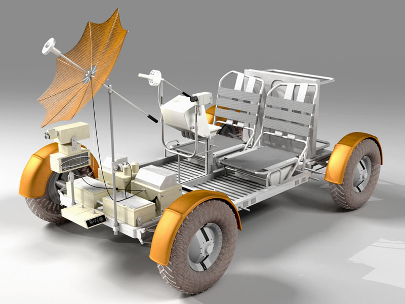 Moon Rover - Pics about space